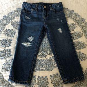 Baby Gap Distressed Denim Jeans 2T Toddler CUTE!!